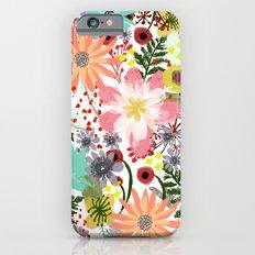 Summer Flowers I  Slim Case iPhone 6s