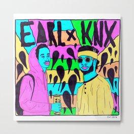 Earl Sweatshirt x Knxwledge Metal Print