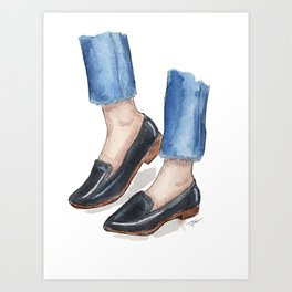 Stepping Out Art Print