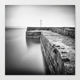 Empty harbour Canvas Print