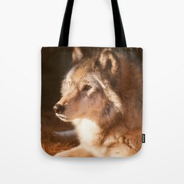 Wolf Beauty Tote Bag