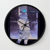 the national Wall Clocks featuring National Affairs by WLY :: We love you ::