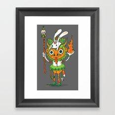 The Hoodoo Man Framed Art Print