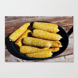 Sweet Corn Canvas Print