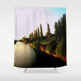 Cruising down the Thompson River Shower Curtain