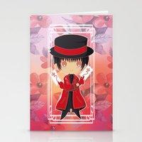subaru Stationery Cards featuring Chibi Subaru Sumeragi by Neo Crystal Tokyo