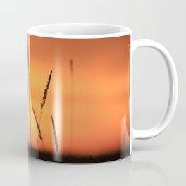 Sunrise field shadow Coffee Mug