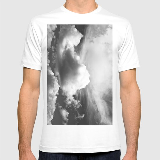 Black and white Clouds T-shirt