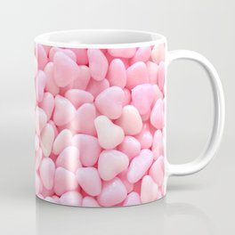 Pink Candy Hearts Coffee Mug