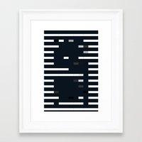bug Framed Art Prints featuring Bug by allan redd