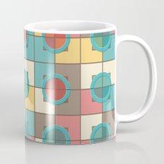 Colorful geometric pattern Mug