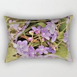 Lavender Splash Rectangular Pillow