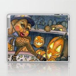 Pumpkin Stripper Laptop & iPad Skin