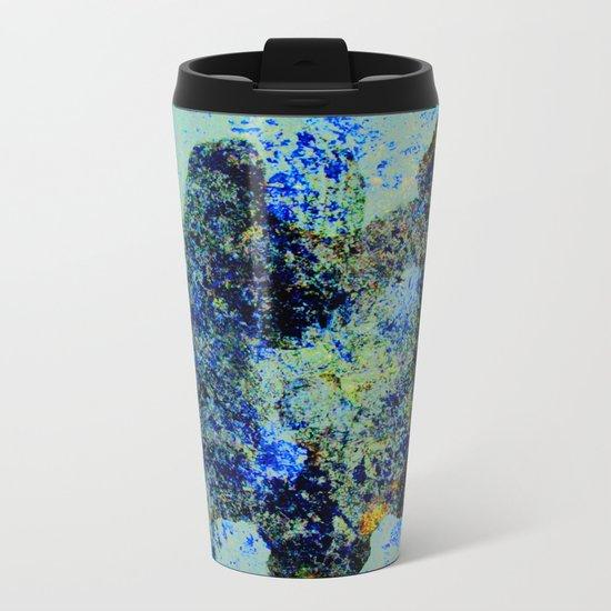 BLACK FISH Metal Travel Mug