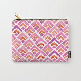 Sewatdee Pink Pattern Carry-All Pouch