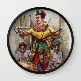 Tari topeng Betawi Wall Clock