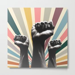 01 Fight for your right Metal Print