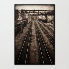 Choosing roads  Canvas Print