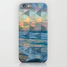 Beach mosaic iPhone 6s Slim Case