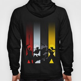 Silhouetted Huntresses Hoody