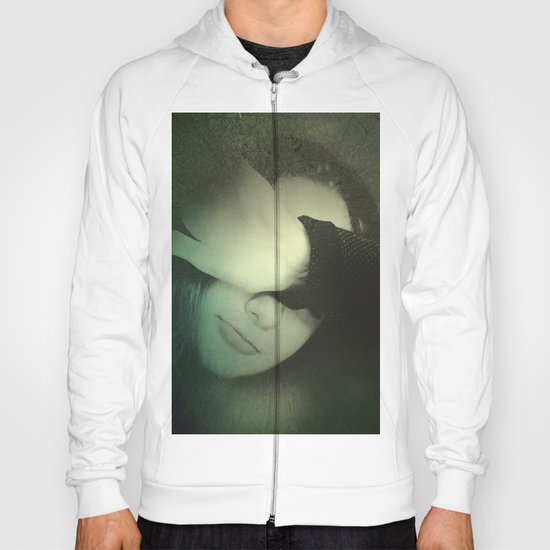 One portrait Hoody
