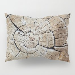 Tree rings of time Pillow Sham