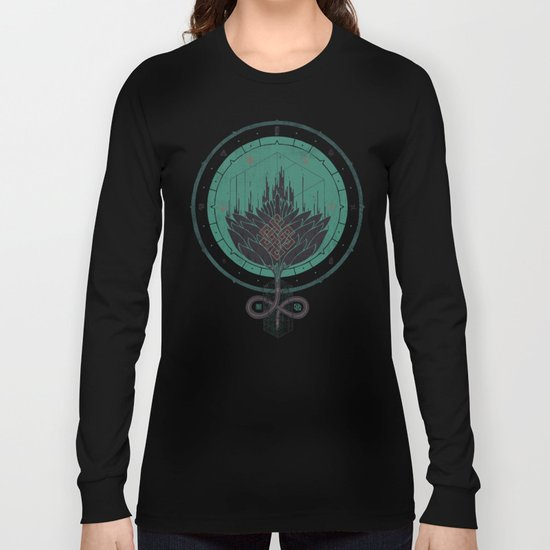 Black Dahlia Long Sleeve T-shirt