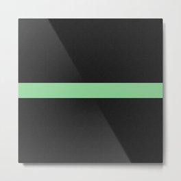 Simple Division - Matt Green On Urban Concrete Geometric Urban Pop Art Metal Print