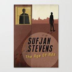 Sufjan Stevens Canvas Print