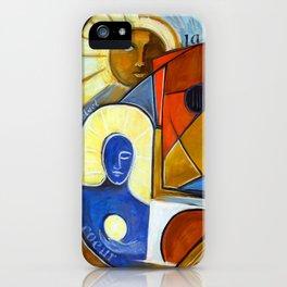 La Vie est Belle en Couleurs Primaires iPhone Case