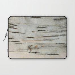 Birch Tree Bark Laptop Sleeve