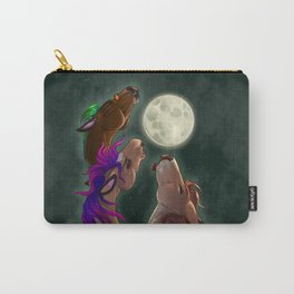 Three Pony Moon Carry-All Pouch