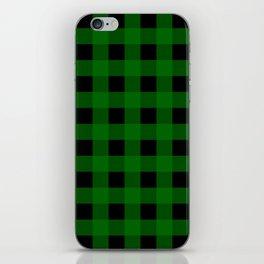Pine Green Buffalo Check - more colors iPhone Skin