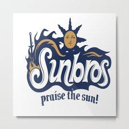 Sunbros Metal Print