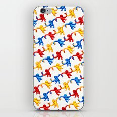 Monkey Toy Pattern iPhone & iPod Skin