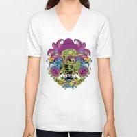 faith V-neck T-shirts featuring Faith by Tshirt-Factory