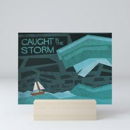 Caught In The Storm Mini Art Print