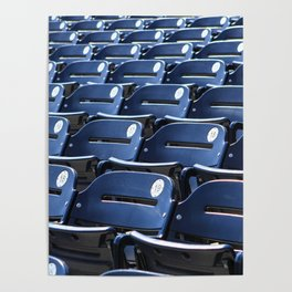 Play Ball! - Stadium Seats - For Bar or Bedroom Poster