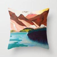 outdoor Throw Pillows featuring Outdoor by salauliamusu