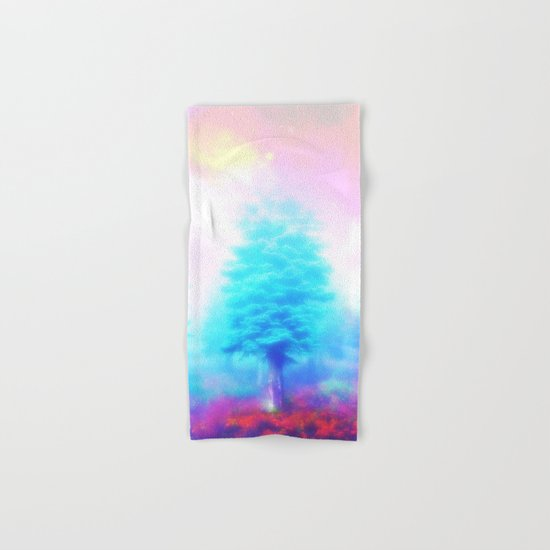 winter sky Hand & Bath Towel