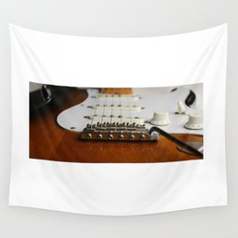 Electric Guitar close up  Wall Tapestry