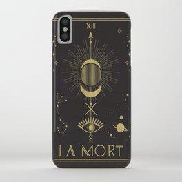 La Mort or The Death Tarot iPhone Case