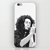marley iPhone & iPod Skins featuring Marley Music by Mark Lucas