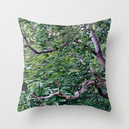 An Old Branch Throw Pillow