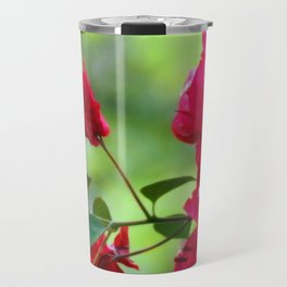 Ruby Blooms Travel Mug