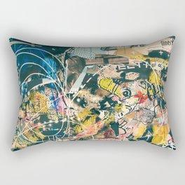 Art Graffiti vintage 4 Rectangular Pillow