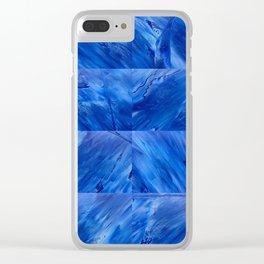 blues en tous sens / square blues Clear iPhone Case