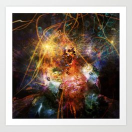 Between Worlds Art Print