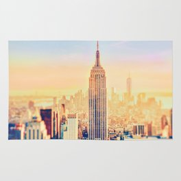 New York City Sunset Glow Rug
