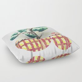 Bonsai City Floor Pillow
